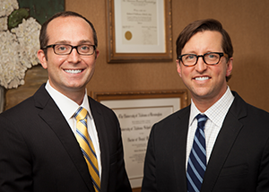 Our periodontists, Dr. Pulliam and Dr. Meister