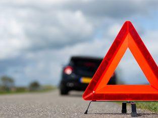 auto collision scene