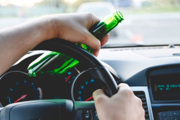 image of drinking and driving