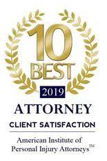 10 Best Attorney 2019 logo