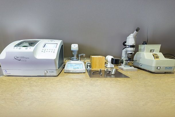 Optical lab technology