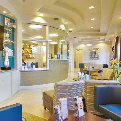 Waiting room in Constance Barone Plastic Surgery