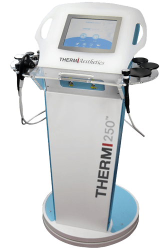 Photo of the Thermi250 machine