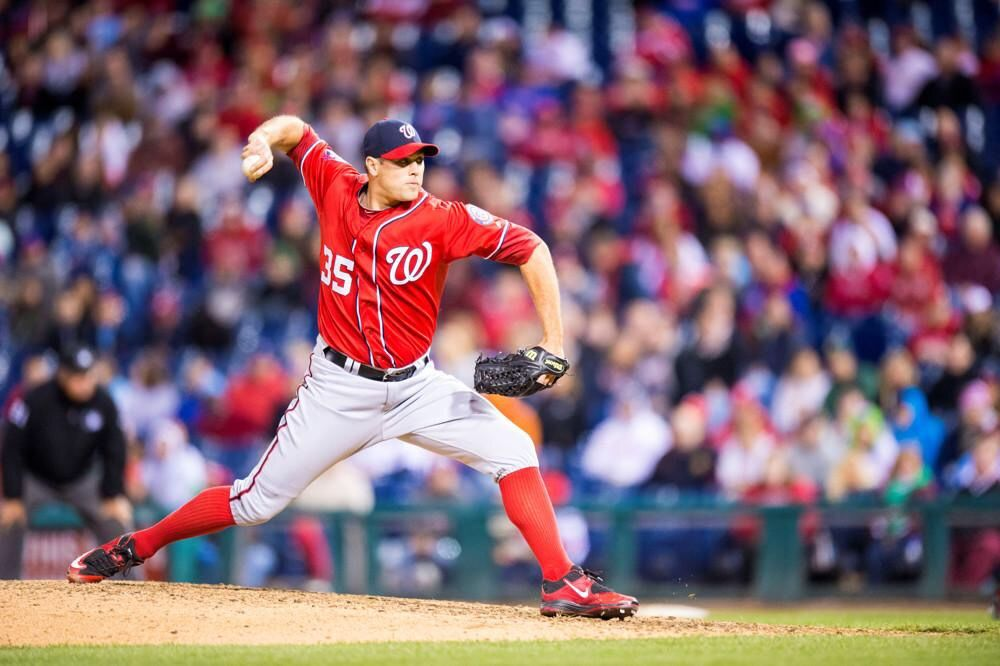 Washington Nationals Pitcher Craig Stammen