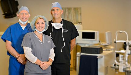 Dr. Holzman and staff