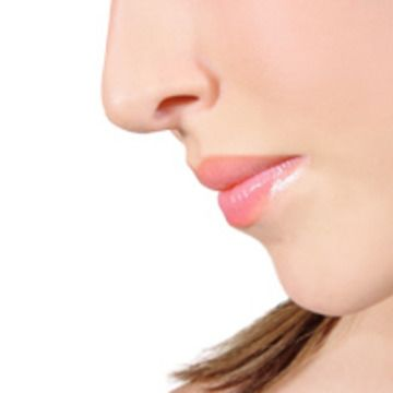 Photo of a woman's nose