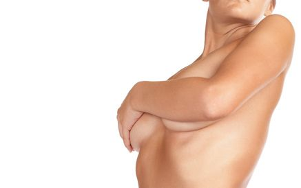 Woman with Breast Reconstruction