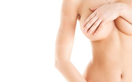 Woman with Breast Revision
