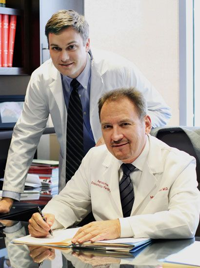Dr. Michael Vermesh and Dr. Vuk Jovanovic