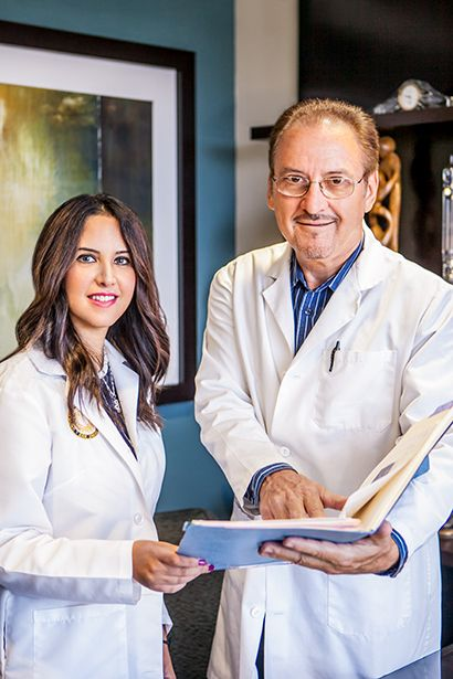 Dr. Michael Vermesh and Dr. Tannaz Toloubeydokhti