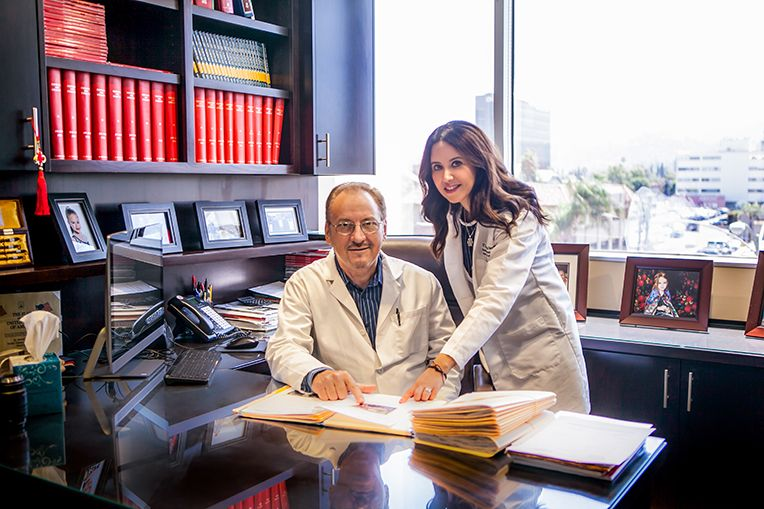 Dr. V and Dr. T