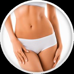 photo of woman in white underwear