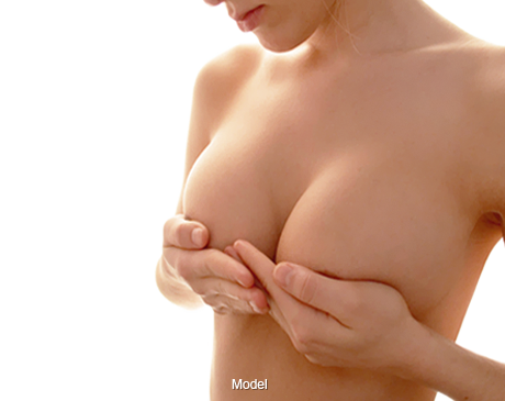 Woman with Breast Surgery