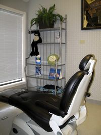 Photo of comfort room at dental office