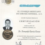 Dr. Garcia credentials