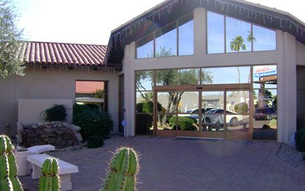 The exterior facade of the Arizona Eye Institute & Cosmetic Laser Center