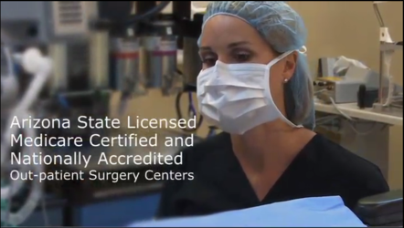 The ambulatory surgical center of the Arizona Eye Institute & Cosmetic Laser Center