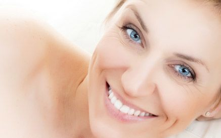 Woman after Obagi® CLENZderm M.D.™ treatment