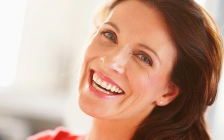 Woman after Obagi® Rosaclear treatment
