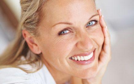 Woman after Obagi® Elastiderm Decolletage treatment