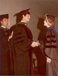 Graduation photo of Dr. Szachowicz