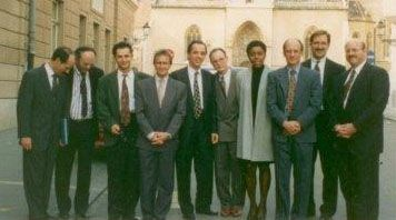 Photo of Dr. Szachowicz and colleagues