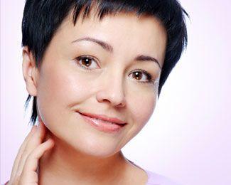 woman with earlobe repair