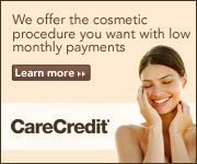We offer the cosmetic procedure you want with low monthly payments. CareCredit - Learn more