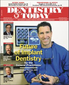 Dr Tischler on the cover of Dentistry Today