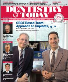 Dr Tischler and Dr Ganz on the cover of Dentistry Today on CAT Scan planning