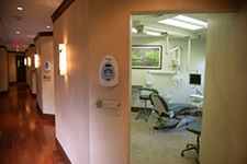 The hall at Tischler Dental