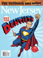 New Jersey Monthly Magazine July 2015 Top Dentists cover