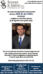 Paul da Costa Certified Trial Attorney Informations