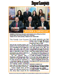 Snyder & Sarno Super Lawyers Recognition