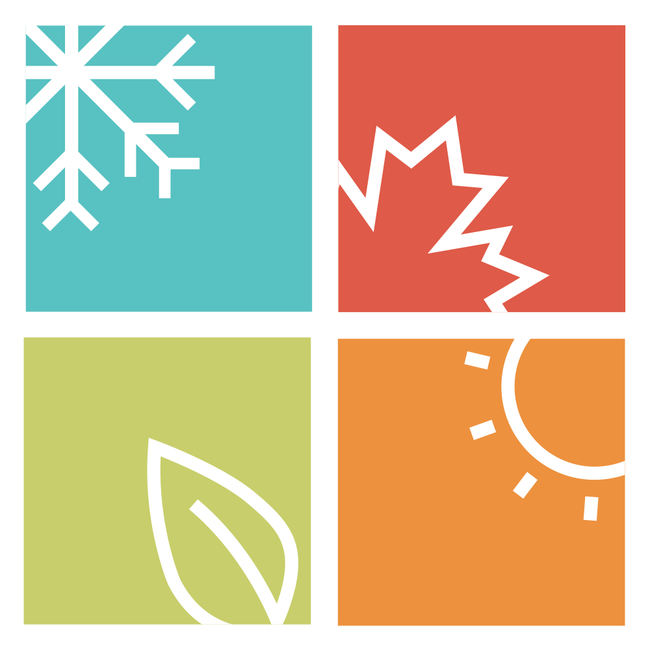 image of symbol of the four seasons