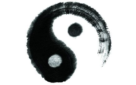 Symbol representing Yin and Yang