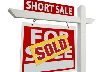 short sale sign - sold