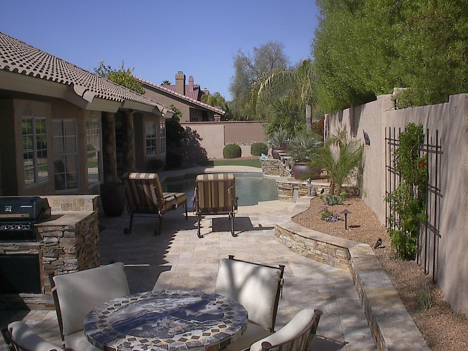 Arizona Landscape Contractor  Prestige Landscapes. Build Patio Door Steps. Paver Patio Design App. Wicker Patio Set With Umbrella. Pvc Patio Furniture Ormond Beach