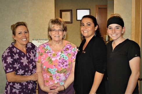 The dental team at John P. Krueger, DDS, PA