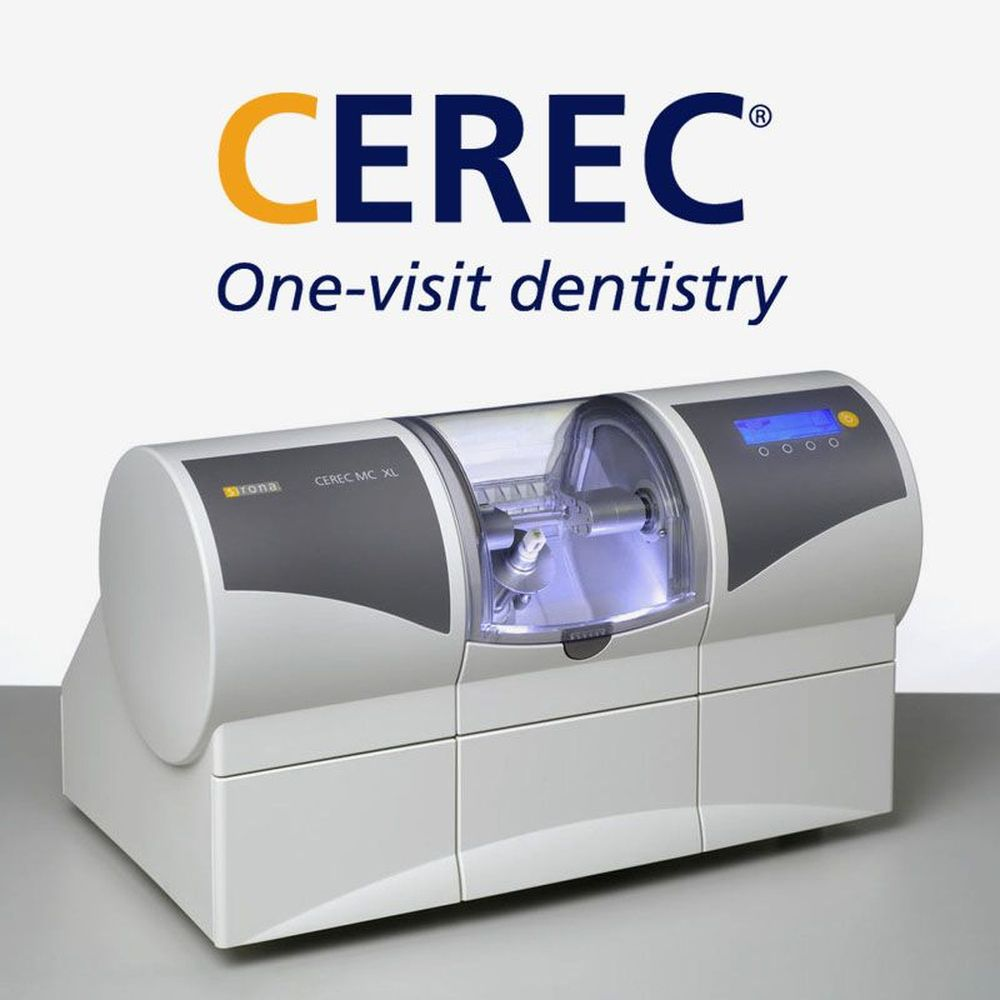 CEREC milling unit