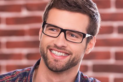 A man in glasses with a great smile