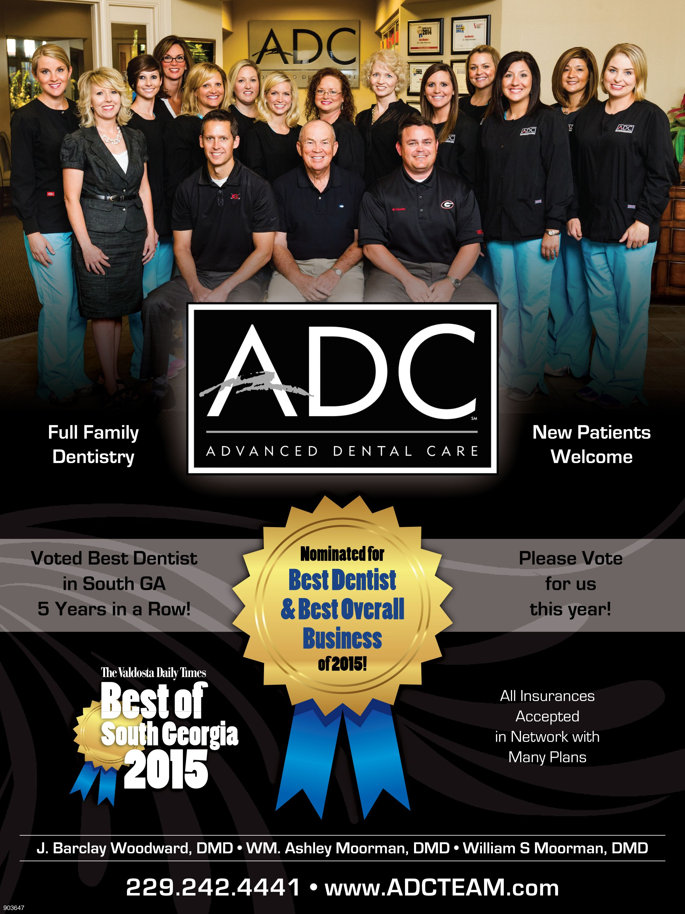 Award for Advanced Dental Care