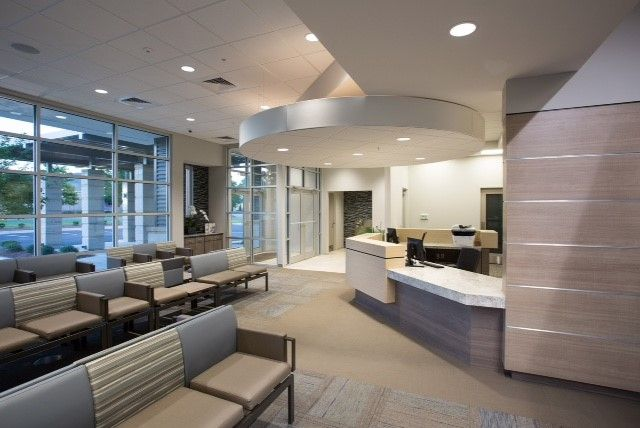 Oral & Maxillofacial Surgery Associates waiting area