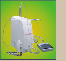 Photo of a dental injection device