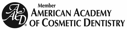The logo for the American Academy of Cosmetic Dentistry