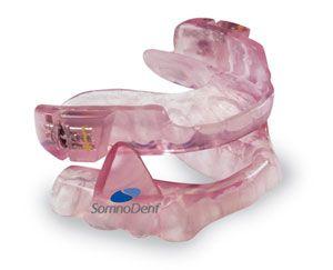 A Somnodent dental application for sleep apnea treatment.