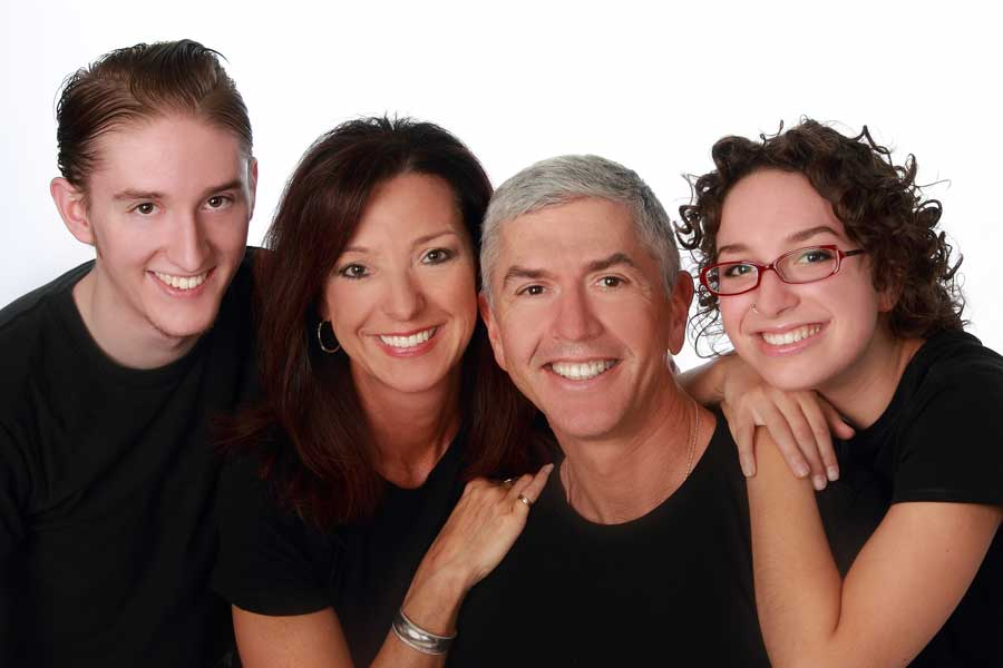 Dr. Treiber and His Family