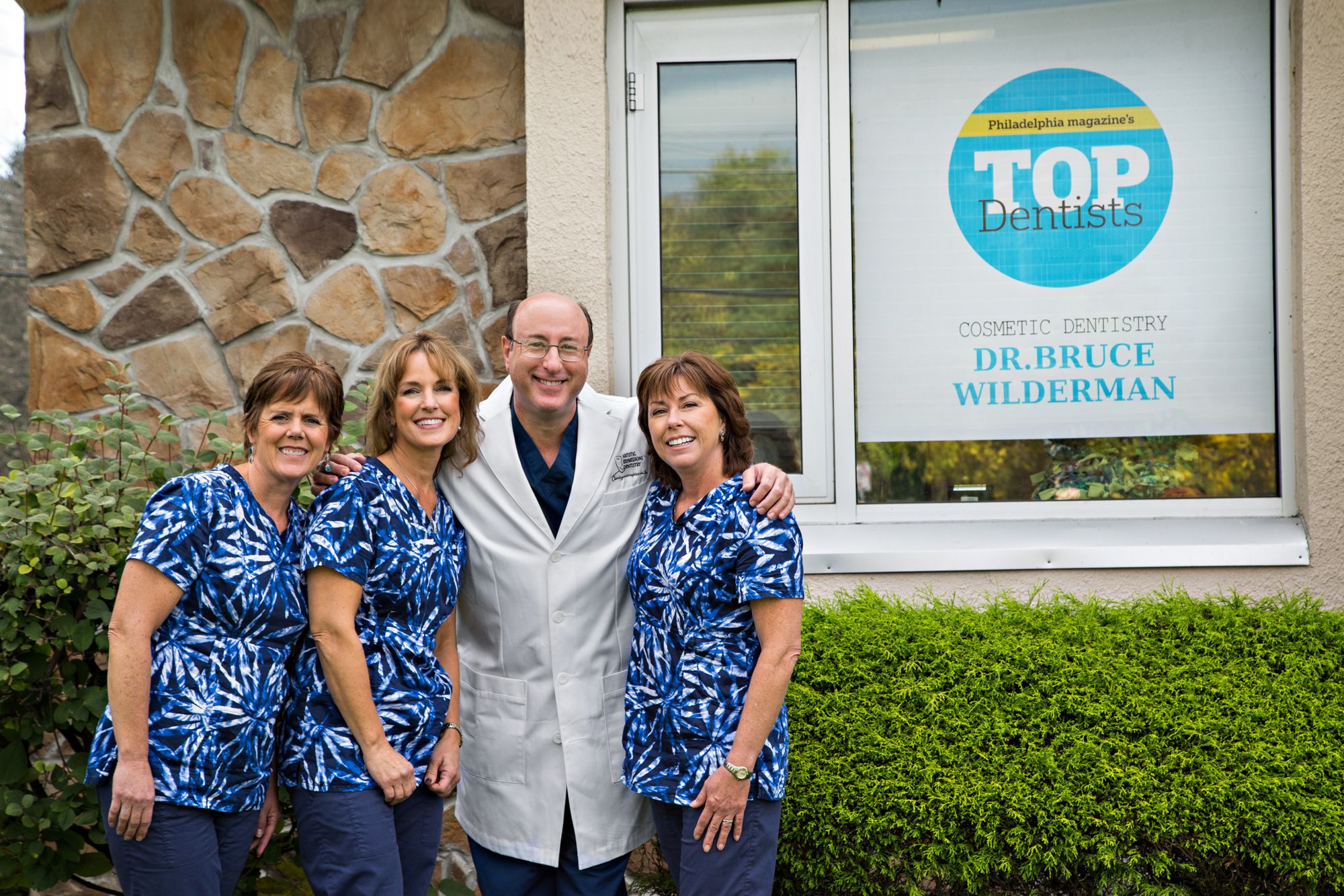 Bucks County dentist office staff