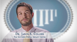 Learn more about our lead dentist, Dr. Collier, in our HD video gallery.