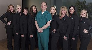 Dr. Richard Moore and The Lifestyle Center Staff